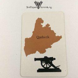 Risiko Spielkarte Länderkarte Quebeck
