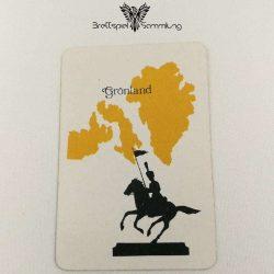 Risiko Spielkarte Länderkarte Grönland