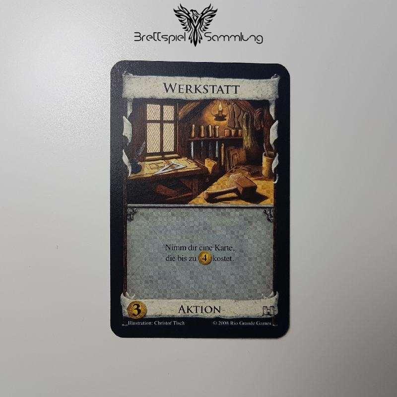 Dominion Karte Werkstatt