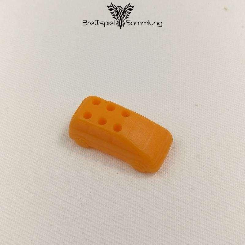 Spiel Des Lebens Spielfigur Auto Orange