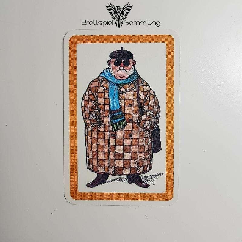 Heimlich & Co. Agentenkarte Orange