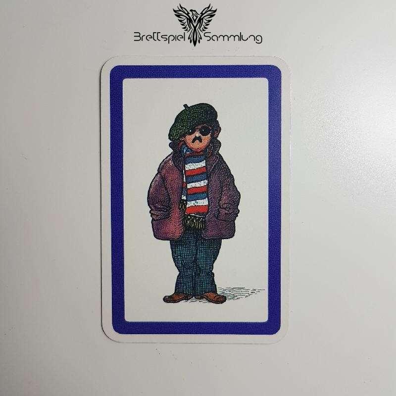 Heimlich & Co. Agentenkarte Lila